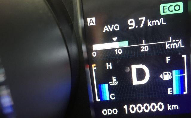 燃費 ガソリンメーター