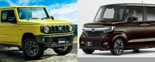 【スズキ 新型ジムニーをN-BOXと比較】してみた!価格や大きさ、燃費は?