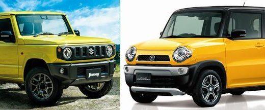 スズキ 新型ジムニーをマツダ フレアクロスオーバーと比較してみた!価格や大きさ、燃費は?